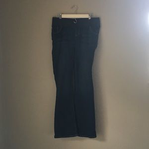 Old Navy maternity jeans LIKE NEW